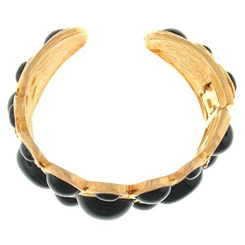 Kenneth Jay Lane branche plaqué or Bracelet bracelet manchette