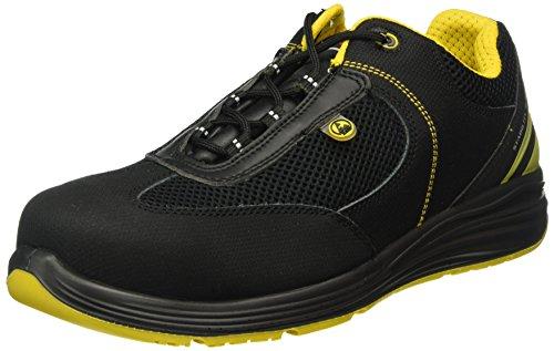 Giasco up121e39Acquarius–Zapatos de seguridad bajo S1P negro/amarillo, negro-amarillo, 42 EU