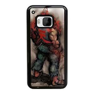 HTC One M9 Cell Phone Case Black Street Fighter Akuma ST1YL6743784