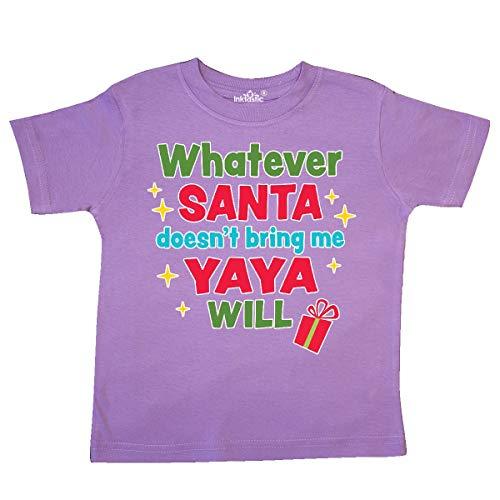 inktastic Christmas Whatever Santa Doesn't Bring Me Toddler T-Shirt 5/6 Lavender (Best Greek Jokes Ever)