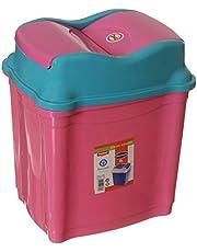Winner Plast Trash Bin - Pink Light Blue