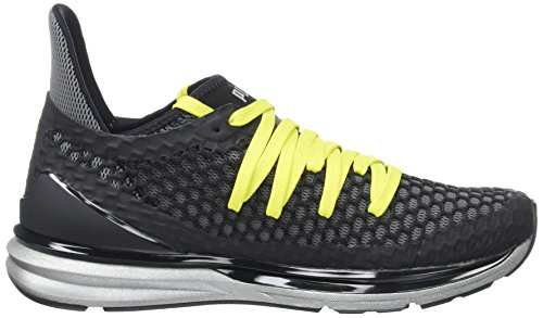 Puma Herren Ignite Limitless Netfit NC Outdoor Fitnessschuhe Schwarz (Black-Nrgy Yellow)