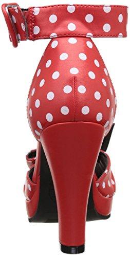 T.U.K. Vintage, Women's Court Shoes Red