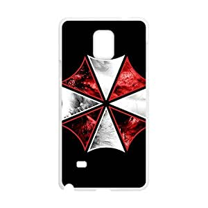 Red and white umbrella Cell Phone Case for Samsung Galaxy Note4