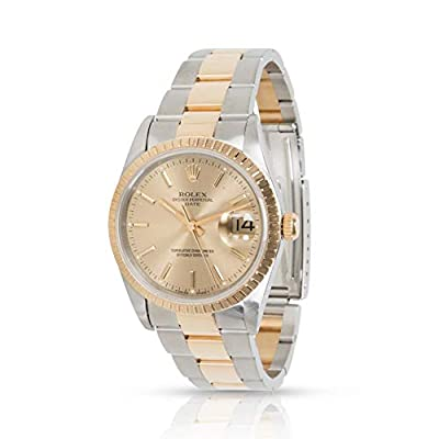 Rolex Date Automatic-self-Wind Male Watch 15223 (Certified Pre-Owned) by Rolex