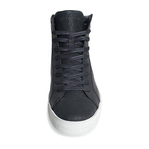 Herren Sneaker 11007A17 von Crime London Farbe 20 Schwarz high Schnürrschuh neue Kollektion Herbst Winter 17/18 (42)