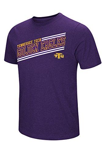 Colosseum Men's NCAA Fly Ball Short Sleeve Tee XXL, Tennessee Technological University Golden State - University Tennessee Technological