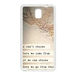perks of being a wallflower quotes Phone Case for Samsung Galaxy Note3 Case