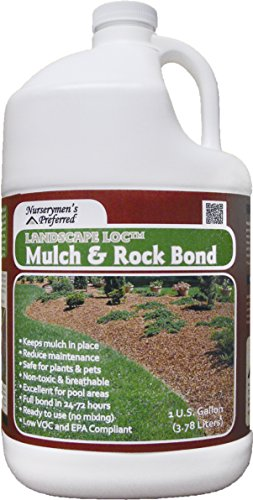 - Nurserymen's Preferred Landscape Loc Mulch & Rock Bond - 1 Gal. (1 Pack)