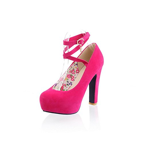 con pompe Shoes Balamasa Pepper alto Pink tacco Scarpa Salt con AAUn1fqP