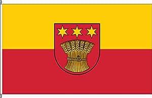 Mesa banderitas sickenh ausen–Soporte para banderas de mesa de madera