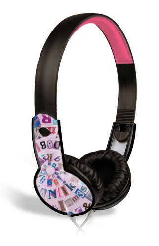 Maxell 190296 Wired Comfortable Over The Ears Safe Volume For Kids Safe Soundz Headphones 6-9 Girls