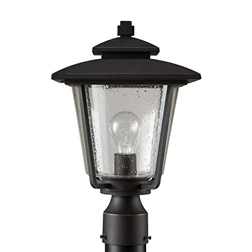 Miseno MLEL1303ORB Anchorage 16'' Tall Single Light Outdoor Post Light by Miseno (Image #1)