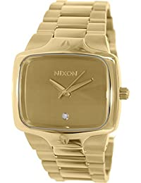 Nixon Men's Player A140509 Gold Stainless-Steel Quartz Watch