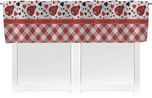 RNK Shops Ladybugs & Gingham Valance ()