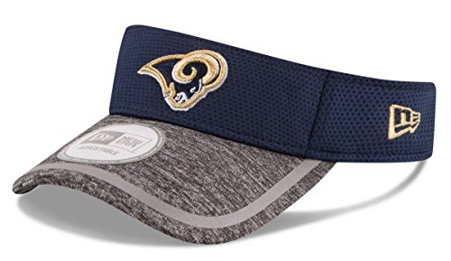 New Era Men's NFL 2016 Training Camp Sideline Visor (OSFM, Los Angeles Rams)