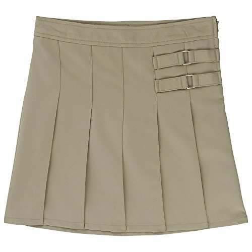 French Toast Uniforms Girls' Scooter Skort(khaki 16) by French Toast