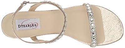 Dyeables, Inc Womens Women's Jasmine Wedge Sandal