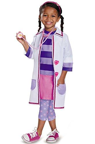 Doc Toy Hospital Deluxe Doc Mcstuffins Disney Junior Costume, Large/4-6X -