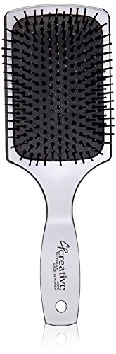 (Creative Hair Brushes Detangling Static Free Paddle Large Hair Brush)