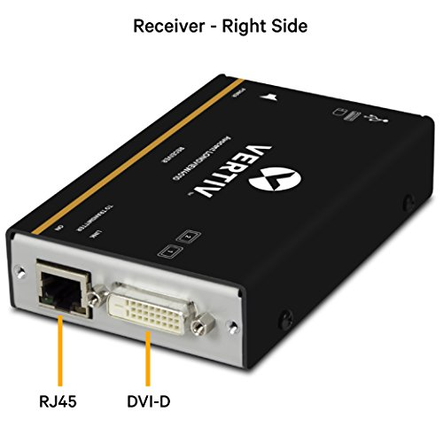 Avocent LV 4000 Series KVM Extender Kit with Receiver & Transmitter, Single Monitor, DVI, USB, Audio, CATx up to 50m / 165ft - LV4010P by Avocent (Image #2)