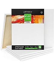Arteza Stretched Canvas & Panels