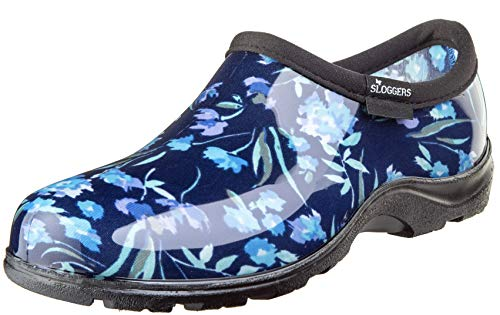 Sloggers 5119FCBL08 Wo's, Fresh Cut Blue sz 8 Waterproof Comfort Shoe