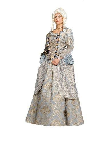 Mozart Costume Amadeus (Women's Lady Renaissance Theater Costume,)