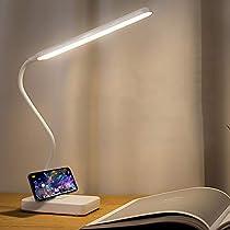 Usb充電式バッテリー駆動読書ライト用ベッドヘッドボード、ポータブルコードレスデスクテーブルラ...