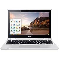 Acer R 11 Convertible 2-in-1 11.6 TouchScreen Chromebook-Intel Celeron N3150, 4GB DDR3L, 32GB eMMC Flash Memory, Chrome-White