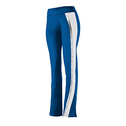 Augusta Sportswear Ladies Aurora Pant M Royal/White/Metallic Silver