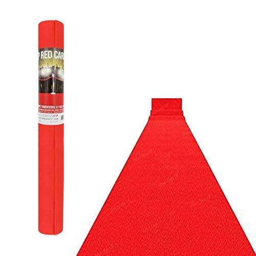 Red, 2metre Home & Garden Store PARTYRAMA.CO.UK Prestige Heavy Duty Red Carpet Runner