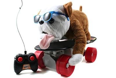 Jada Toys Rc Buddy The Dog On Skateboard from Jada Toys
