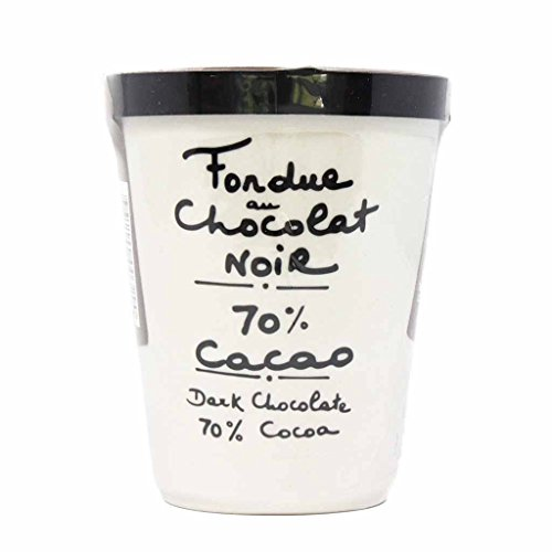 y 70% Cocoa Dark Chocolate Fondue in Pottery Crock 7oz (Chocolate Fondue Cocoa)