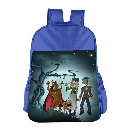 Wodehous Adonis Halloween Scooby-doo Personalized Toddler Backpack Kids Children's Custom School Bags Book Bag -