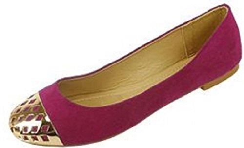 Scarpe Da Donna 18 Ballerine Con Balletto Con Punte Staccate 4058 Bacche / Oro