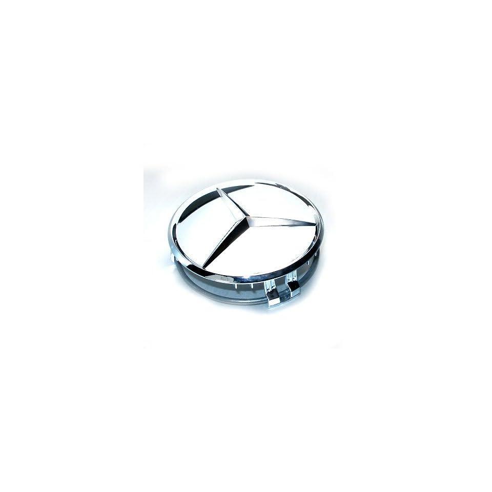 Mercedes Benz Chrome Wheel Center Cap