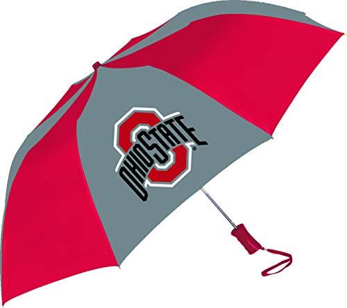 Ohio State Buckeyes Shaft - Ohio State Buckeyes Sporty Two-Tone Umbrella