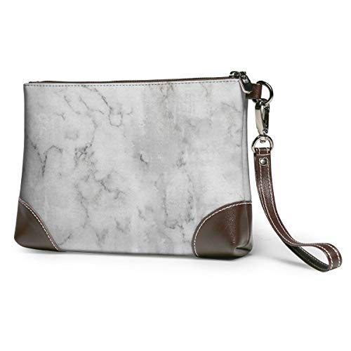 Women Leather Clutch Purse Envelope Marble Daily Evening Travel Party