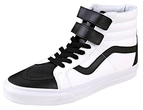 Vans Unisex Sk8-Hi Reissue (Classic Tumble) Skate Shoe Black/True White