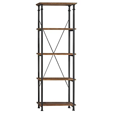 Homelegance 3228-12 Bookcase Shelves, Brown/Black