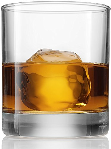 Paksh Novelty Italian Weighted Bottom Small Old Fashioned Whiskey Glasses for Wine, (Novelty Drinking Glasses)
