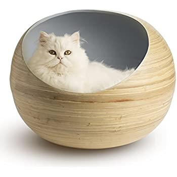 Amazon.com : Fhasso Stylish Igloo Cat Cave Bed - Luxury