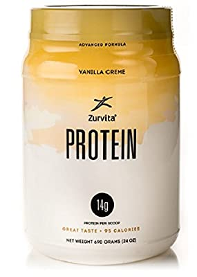 New Zurvita Zeal for Life Vanilla Creme Protein - 30 Servings