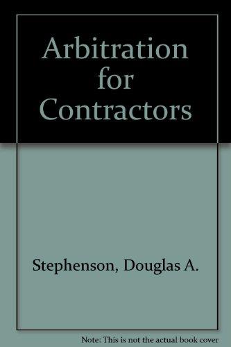 Arbitration for Contractors