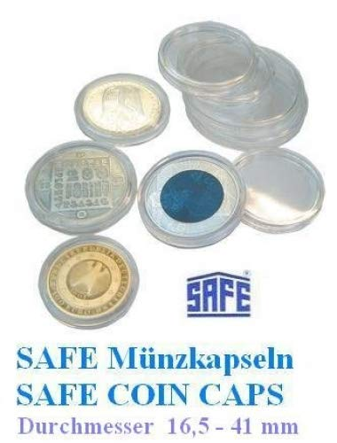 100 Safe Münzkapseln Caps 26 Ideal Für 2 Euro Münzen Coincaps