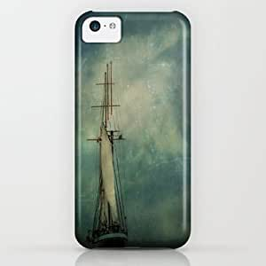 classic - Sail Away Into The Night iPhone & iphone 5c Case by Michelle Anderson