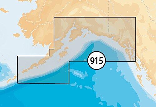 Navionics GPS Service Platinum South Alaska MSD/SD Nautical Chart on SD/Micro-SD Card - (South Microsd Card)