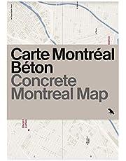 Concrete Montréal Map: Bilingual guide map to Montréal's concrete and Brutalist architecture
