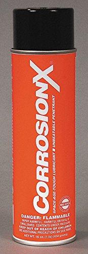 Corrosionx Lubricant - Corrosion Inhibitor, Wet Lubricant Film, 200F Max. Operating Temp, 16 oz. Aerosol Can